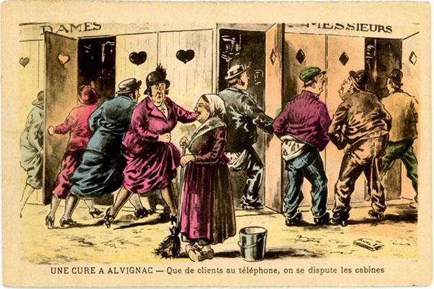 poudre de Coutaret, huile de ricin, glycérine ou eau Lotoise... (1/6)
