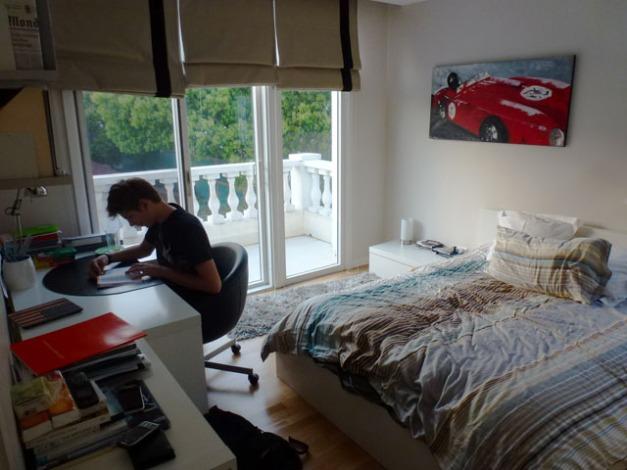 Adrien's room