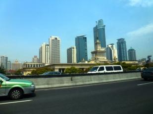 depuis Pudong airprt 1