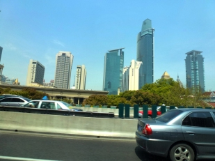 depuis Pudong airprt 2