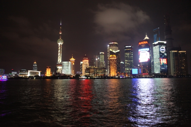 Pudong nuit