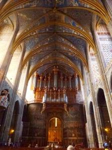 la nef et l'orgue