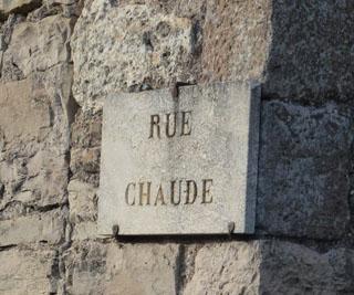 Rue chaude